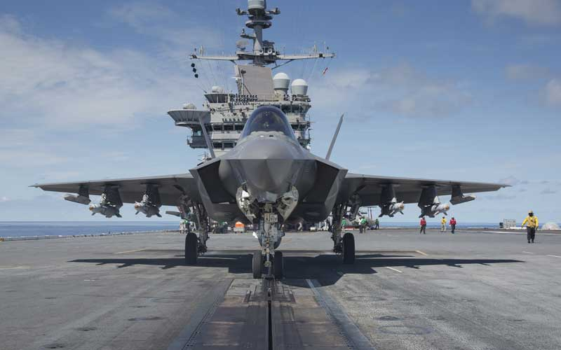 F-35Cのカタパルト発艦