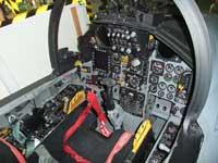 F-15Jイーグルのコックピット