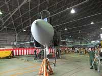 F-15Jイーグルの前方