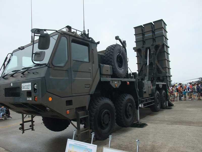 03式中距離地対空誘導弾(中SAM)