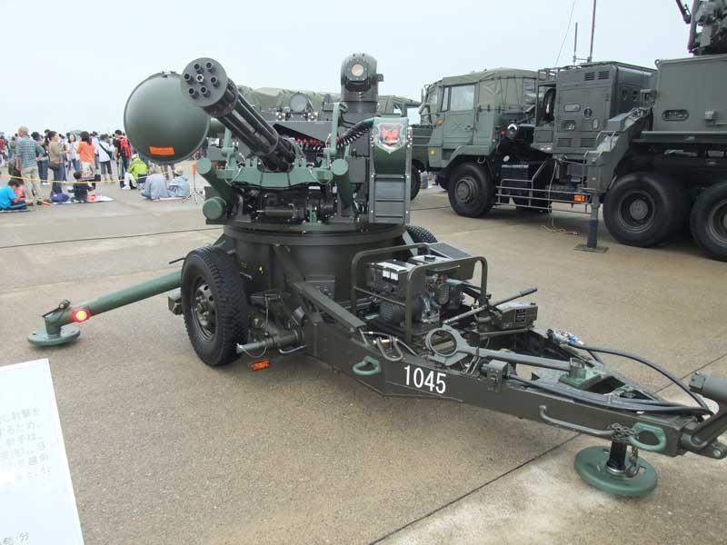 20mm対空機関砲(VADS-I改)