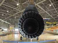 石川県航空プラザに展示してあるF-104Jの後方