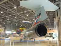 石川県航空プラザに展示してあるF-104Jの後方斜め