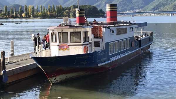 遊覧船「アンソレイユ号」
