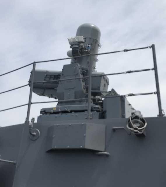 SeaRAM(護衛艦「かが」)