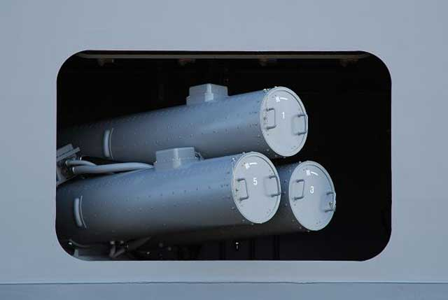 3連装短魚雷発射管(ひゅうが型)