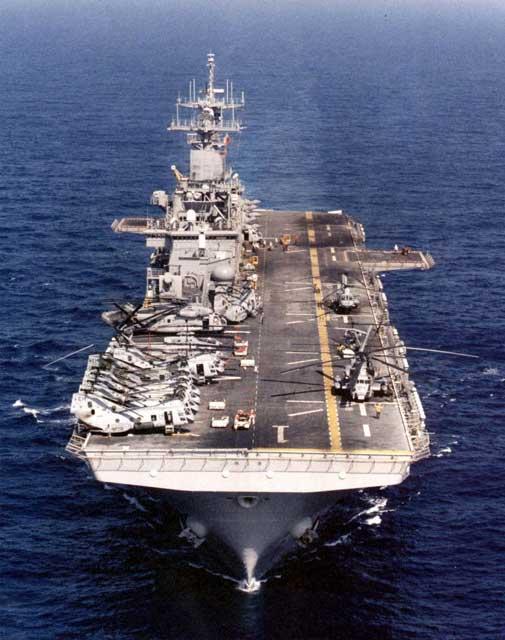 強襲揚陸艦「ワスプ」