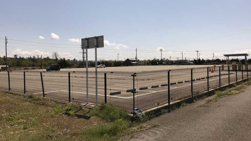 国際線第2駐車場の駐車状況