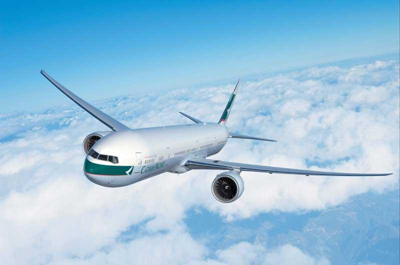 キャセイパシフィック航空の旅客機