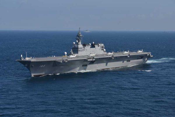 脚光を浴びているヘリコプター搭載護衛艦(DDH)