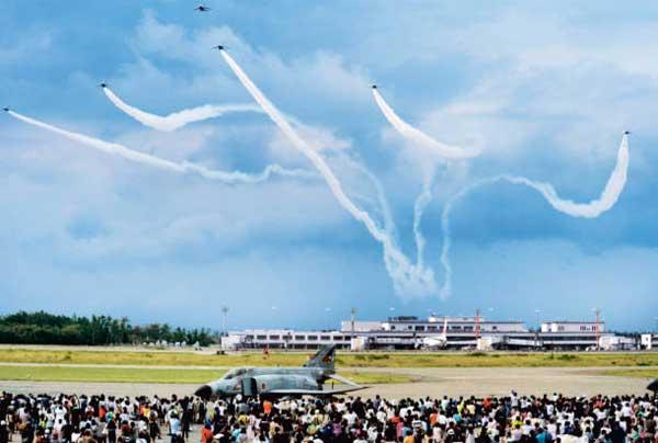 小松基地航空祭(2012年)の風景