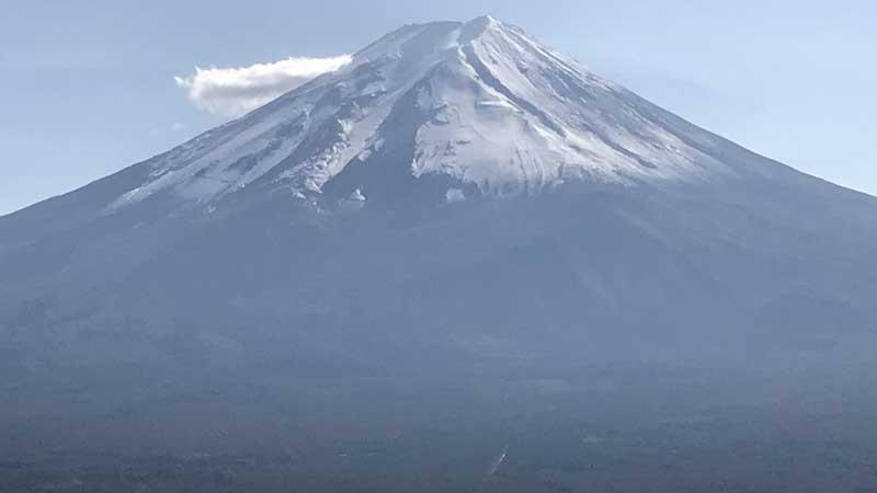 富士山(カチカチ山から撮影)