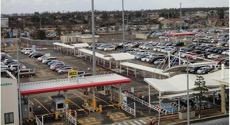 小松空港駐車場